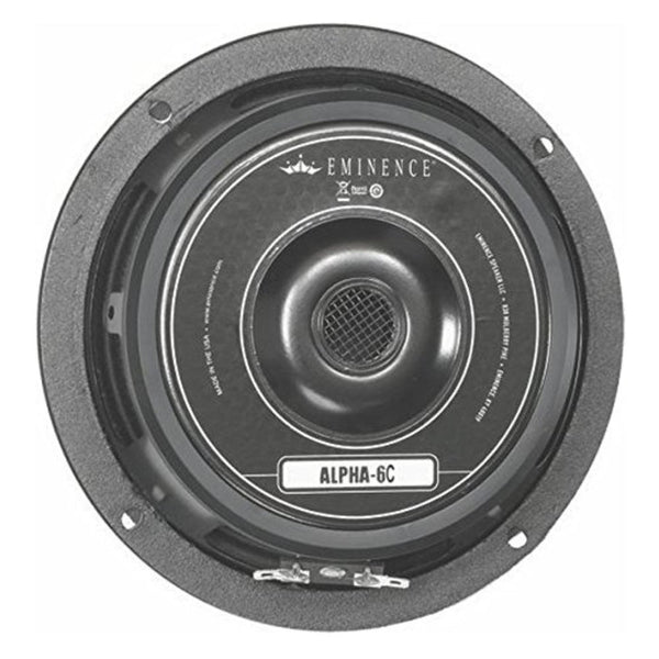 "Eminence ALPHA 6C 6"" Speaker 100w 4 Ohm - The Speaker Factory"