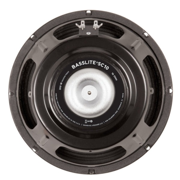 "Eminence BASSLITE SC10-16 10"" 150 Watts 16 Ohm Bass Guitar Speaker - The Speaker Factory"