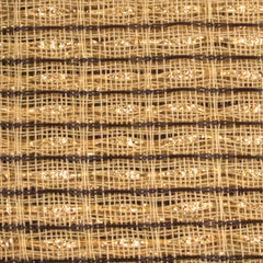 Beige, Brown, Gold Stripe Grill Cloth
