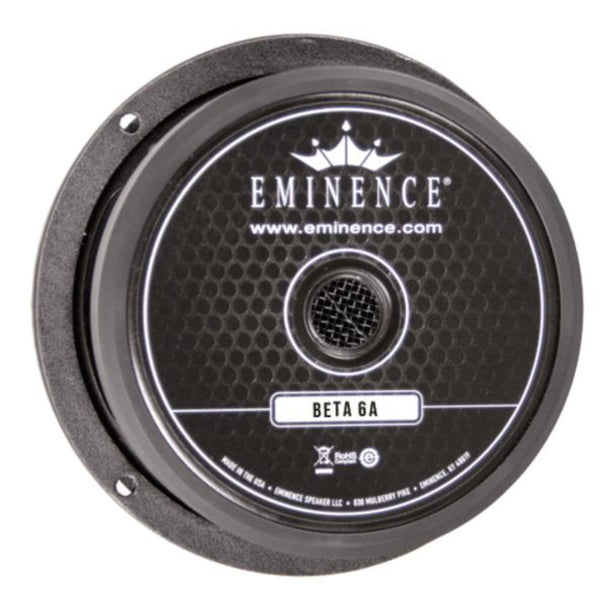 "Eminence BETA-6A 6"" Speaker 175 Watts - The Speaker Factory"