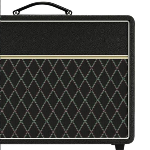 Black Vox or Dumble Style Grill Cloth - The Speaker Factory