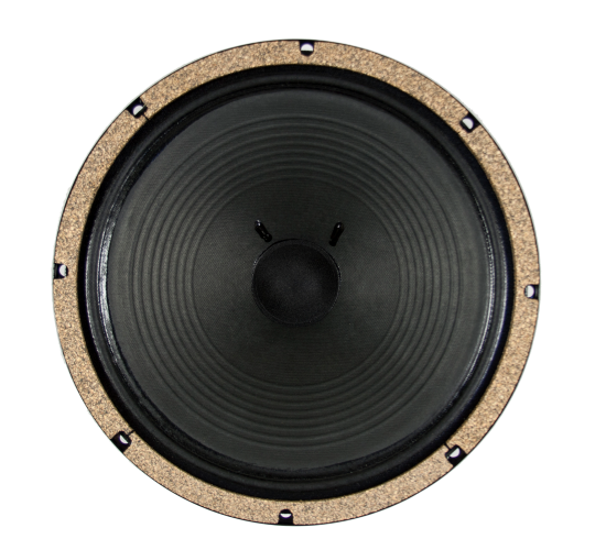 "WGS Black & Blue ALNICO 12"" 15 Watt British Invasion Guitar Speaker - The Speaker Factory"