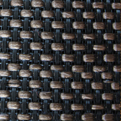 Brown Basket Weave Grill Cloth
