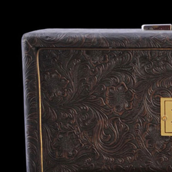 Brown Country Western Tolex - The Speaker Factory