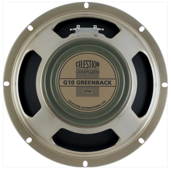 "Celestion G10 Greenback 10"" 30 Watt Guitar Speaker - The Speaker Factory"