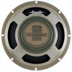 "Celestion G10 Greenback 10"" 30 Watt Guitar Speaker"