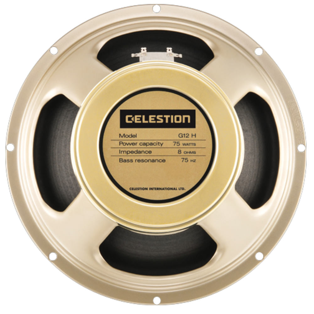 "Celestion G12H-75 Creamback 12"" 75 Watt - The Speaker Factory"