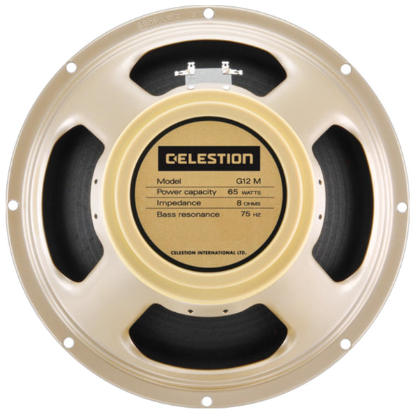 "Celestion G12M-65 Creamback 12"" 65 Watt - The Speaker Factory"
