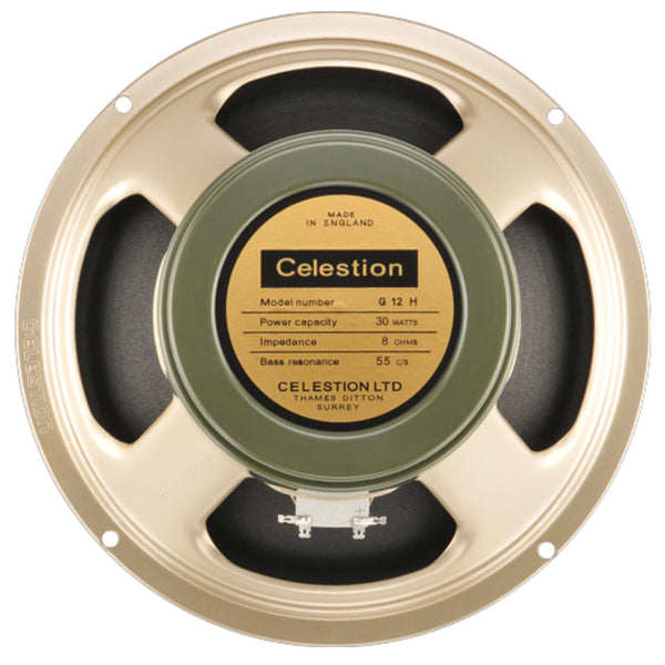 "Celestion Heritage Series G12H(55) - 12"" 30 Watt - The Speaker Factory"