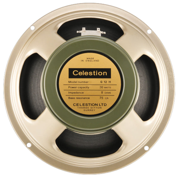 "Celestion Heritage Series G12H(75) - 12"" 30 Watt - The Speaker Factory"