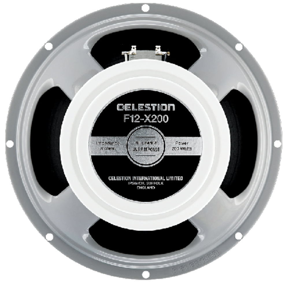 "Celestion F12-X200 12"" 200 Watt 8ohm Guitar Speaker - The Speaker Factory"