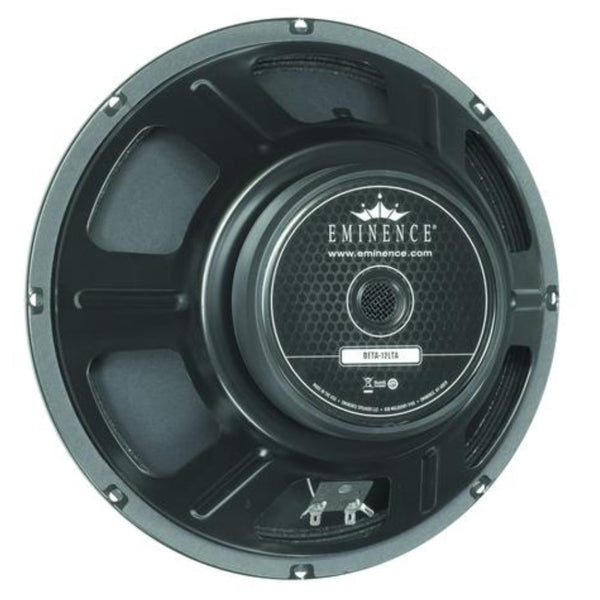 "Eminence BETA-12LTA 12"" Speaker Twin Cone 225 Watts - The Speaker Factory"