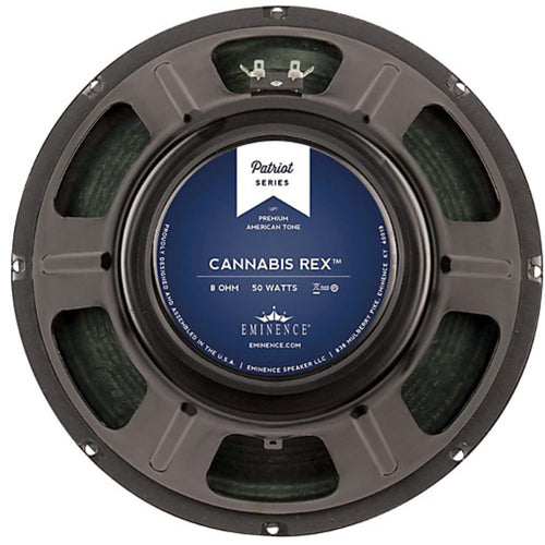 "Eminence CANNABIS REX 12"" 8ohm Guitar Speaker 50 Watts"