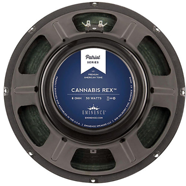 "Eminence CANNABIS REX 12"" 8ohm Guitar Speaker 50 Watts - The Speaker Factory"