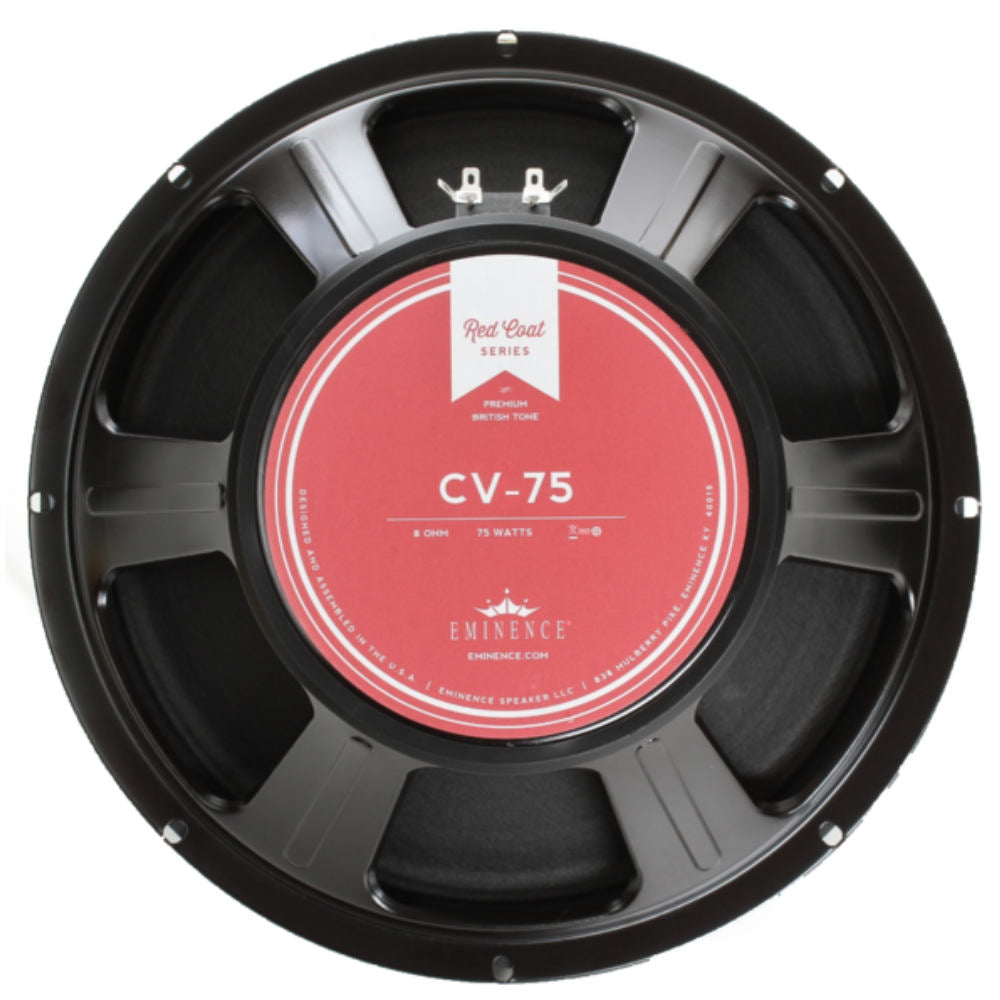 "Eminence CV-75 12"" Guitar Speaker 75 Watts 8 Ohm - The Speaker Factory"