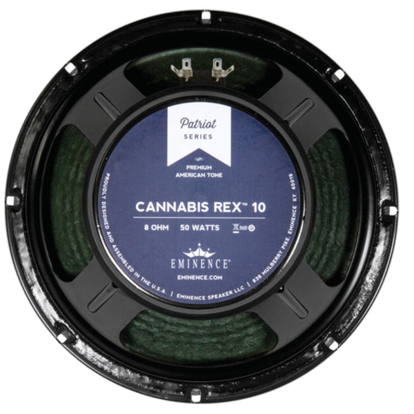 "Eminence Cannabis Rex 10 - 10"" 50 Watt 8 ohm - The Speaker Factory"