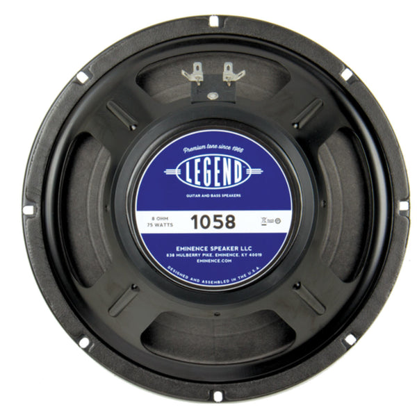 "Eminence LEGEND 1058 10"" Guitar Speaker 75 Watts - The Speaker Factory"