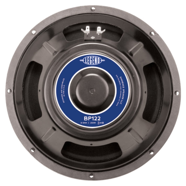 "Eminence LEGEND BP122 12"" 250 Watts 8 Ohm Bass Guitar Speaker - The Speaker Factory"