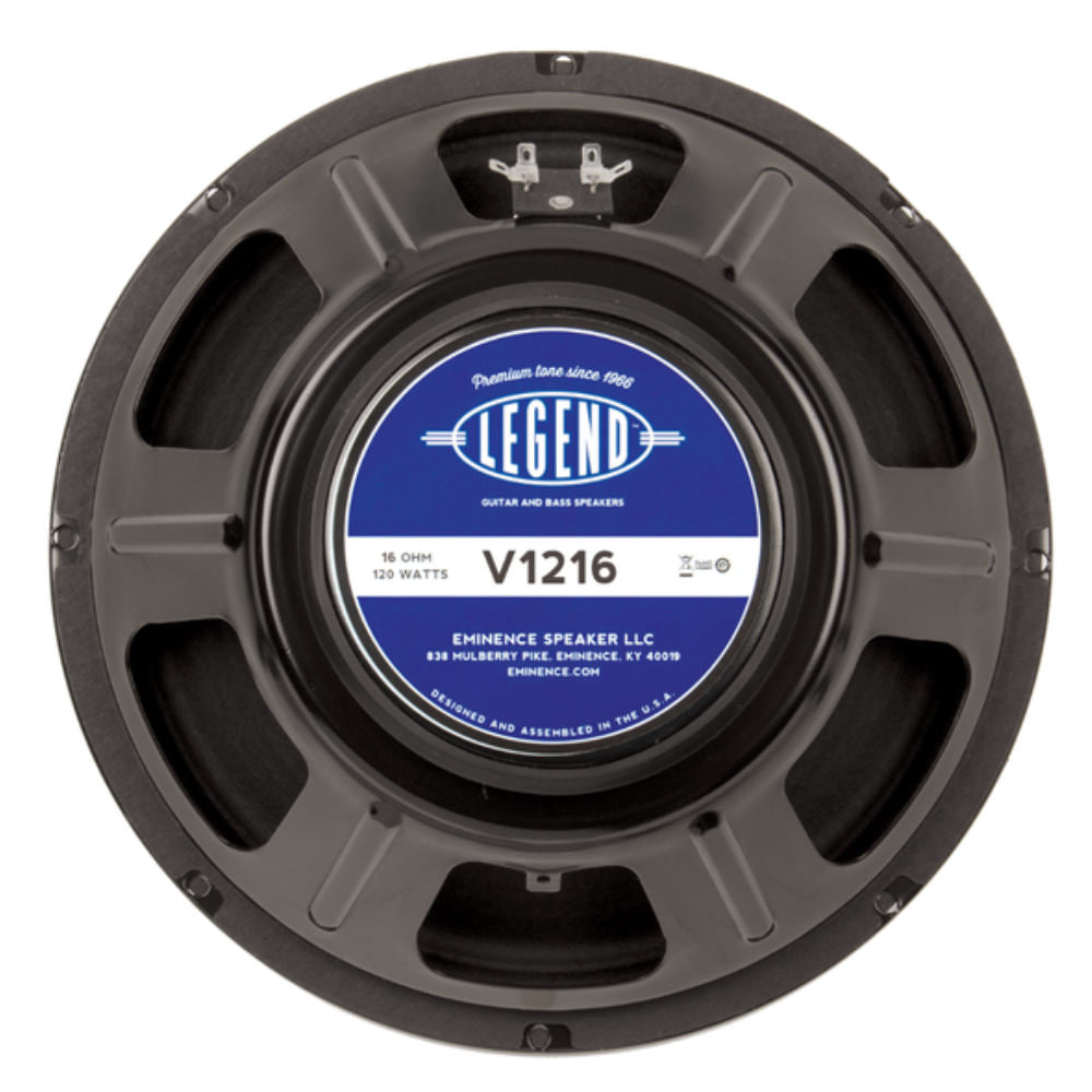 "Eminence LEGEND V1216 12"" Guitar Speaker 120Watts 16 Ohm - The Speaker Factory"