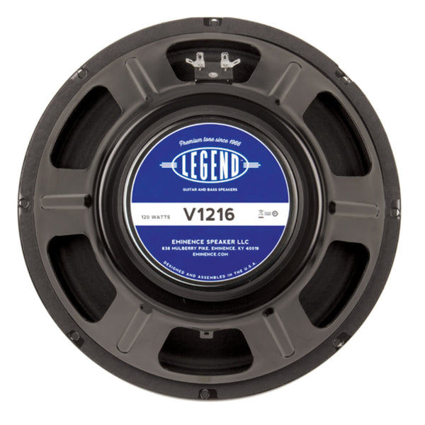 "Eminence LEGEND V128 12"" Guitar Speaker 120Watts 8 Ohm - The Speaker Factory"