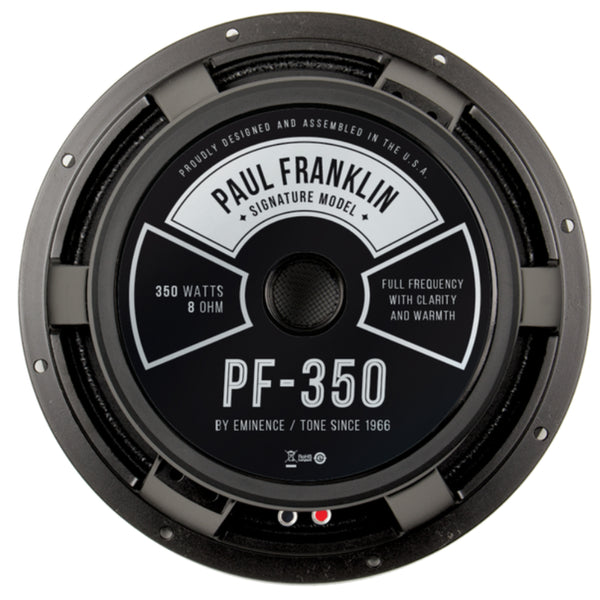 "Eminence PF-350 Paul Franklin 12"" 350 Watts 8 Ohm Guitar Speaker - The Speaker Factory"