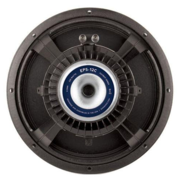 "Eminence Patriot Series EPS 12C  12"" 225 Watt - The Speaker Factory"