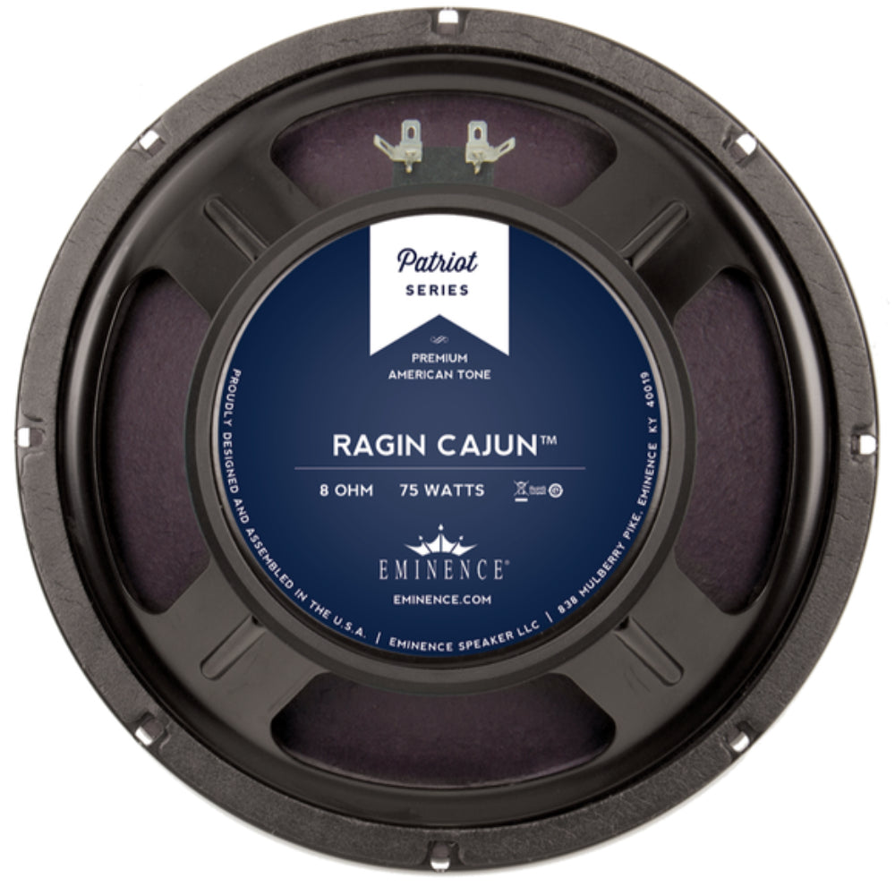 "Eminence Patriot Series Ragin Cajun 10"" 75 Watt - The Speaker Factory"