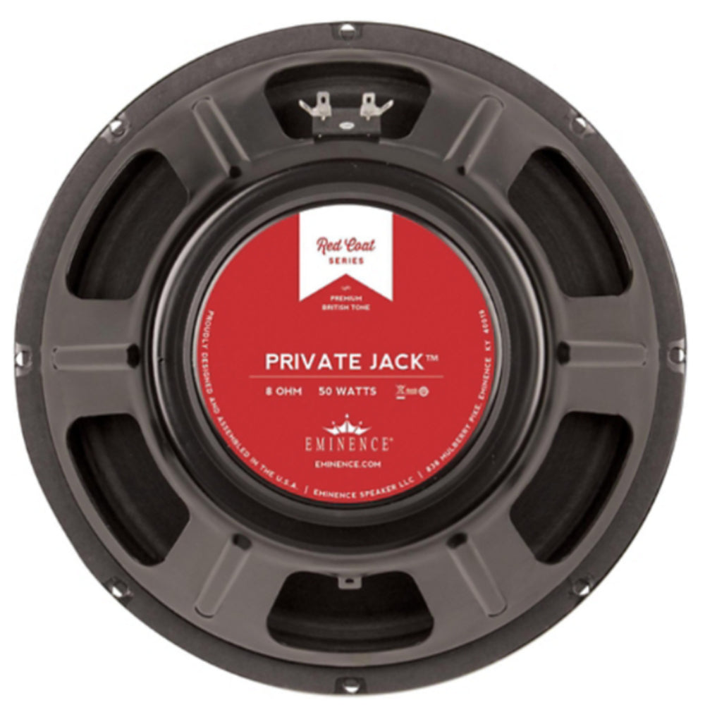 "Eminence Private Jack 12"" 50 Watt 8ohm Guitar Speaker - The Speaker Factory"