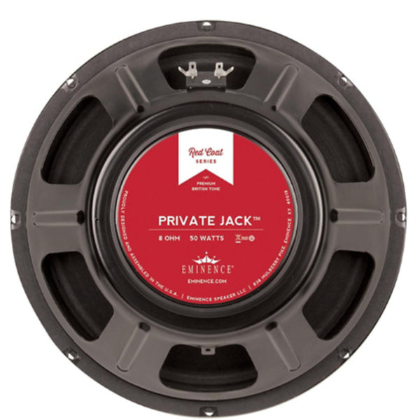"Eminence Private Jack 16 12"" 50 Watt 16ohm Guitar Speaker - The Speaker Factory"