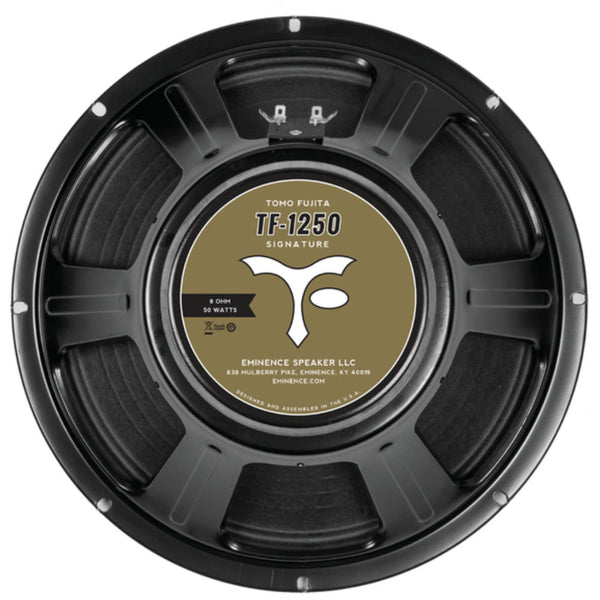 "Eminence TF1250 Tomo Fujita Signature 12"" Speaker 50 Watts 8 Ohm - The Speaker Factory"