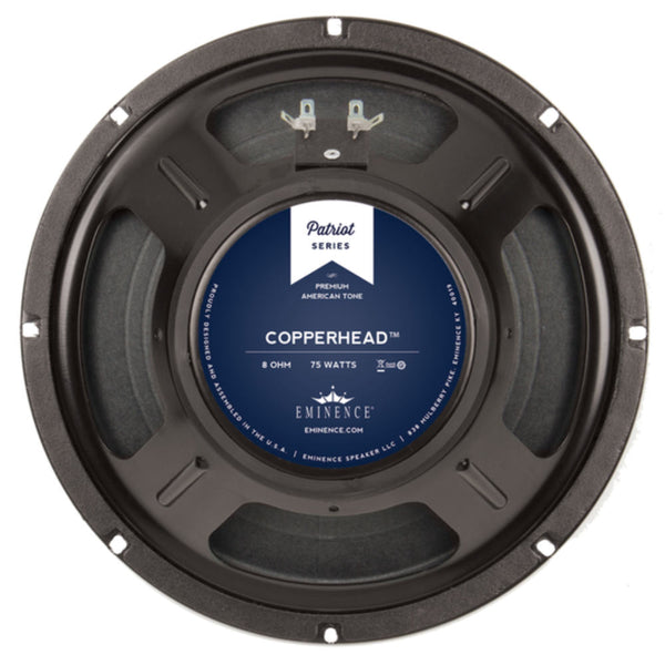 "Eminence THE COPPERHEAD 10"" Guitar Speaker 75 Watts - The Speaker Factory"