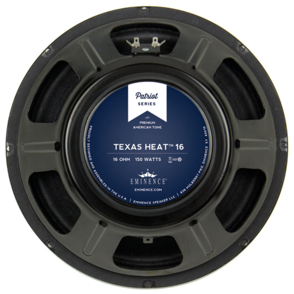 "Eminence Texas Heat 16 12"" 150 Watt 16 ohms - The Speaker Factory"