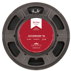"Eminence The Governor 16 12"" 75 Watt 16 ohms"