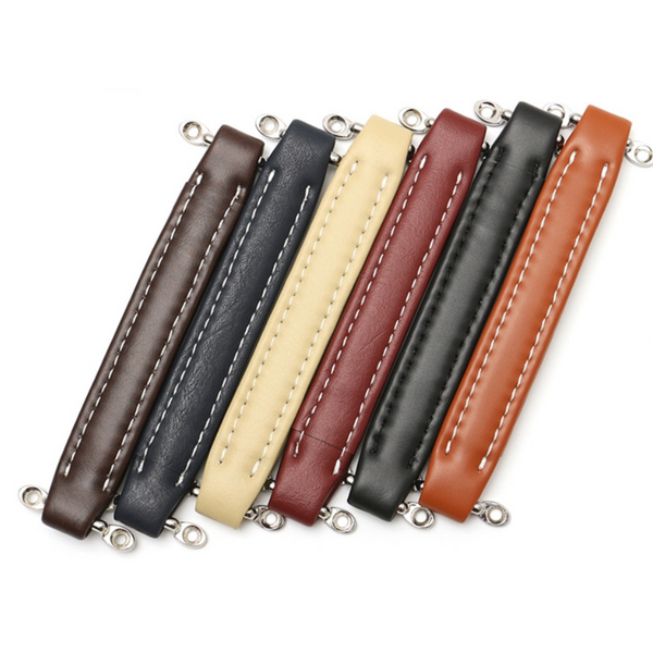 Leather Handles in 6 colours - The Speaker Factory