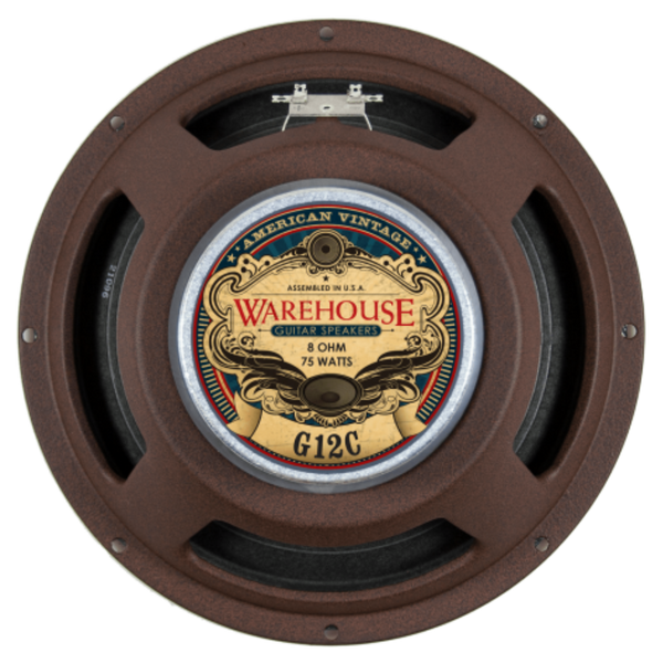 "WGS G12C 12"" 75 Watt American Vintage Guitar Speaker - The Speaker Factory"