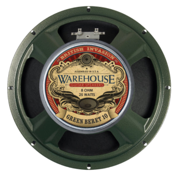 "WGS Green Beret 10"" 25 Watt British Invasion  Guitar Speaker - The Speaker Factory"