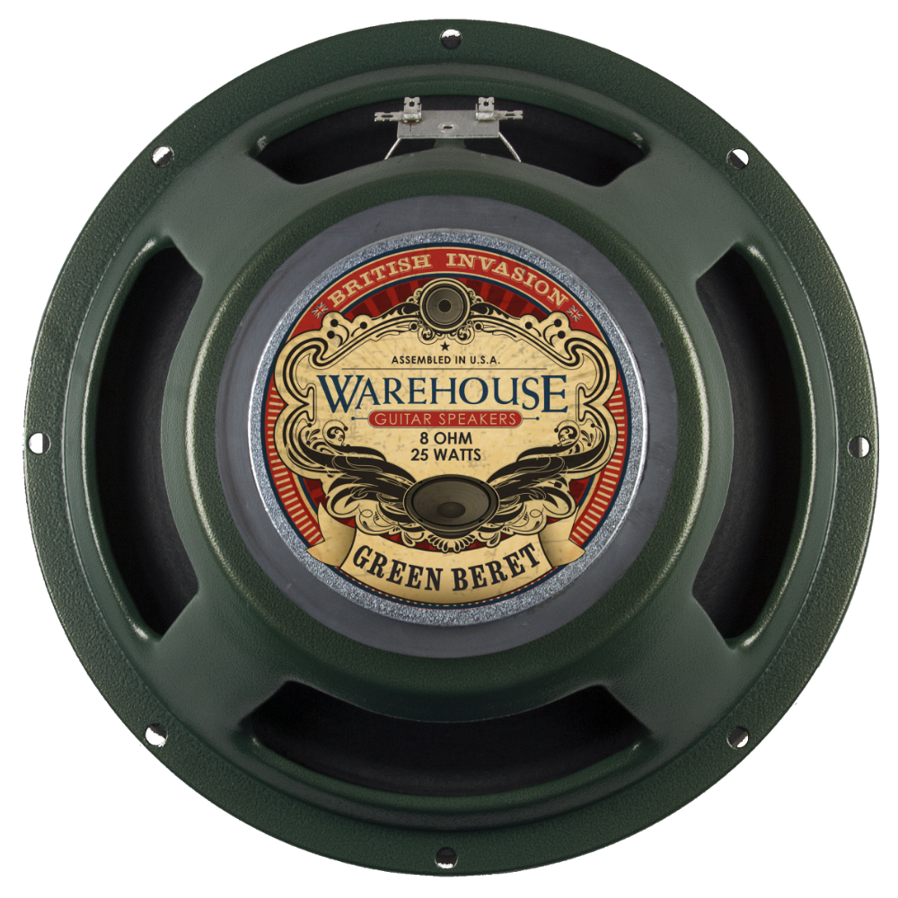 "WGS Green Beret 12"" 25 Watt British Invasion Guitar Speakers - The Speaker Factory"