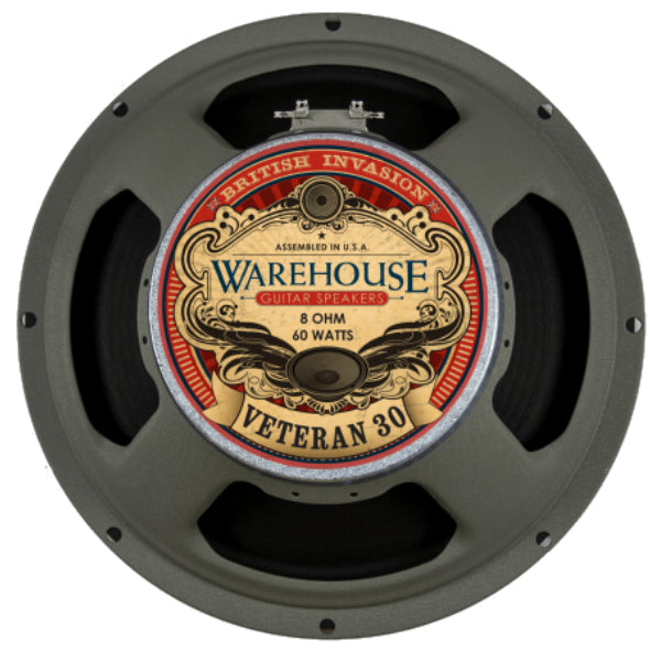 "WGS Veteran 30 12"" 60 Watt British Invasion Guitar Speaker - The Speaker Factory"