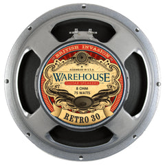 "WGS Retro 30  12"" 30 WattBritish Invasion Guitar Speaker - The Speaker Factory"
