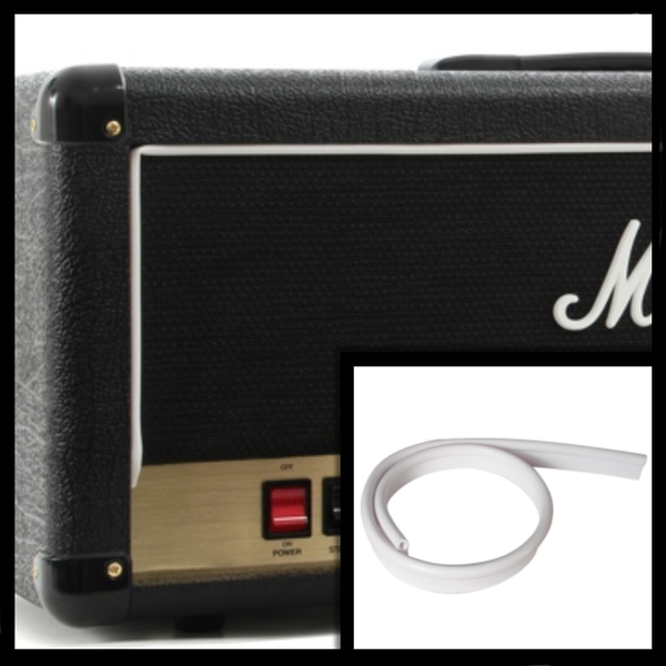 Marshall Style White Piping - The Speaker Factory