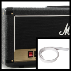 Marshall Style White Piping