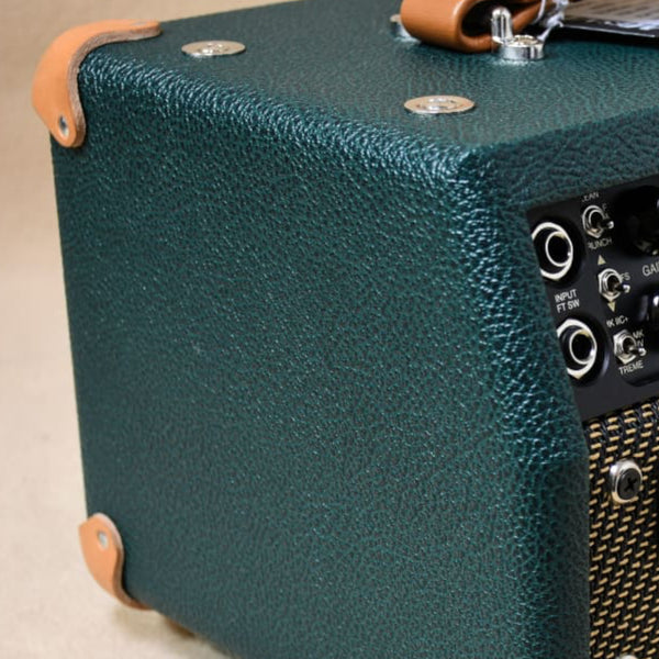 British Emerald Green Bronco Tolex - The Speaker Factory
