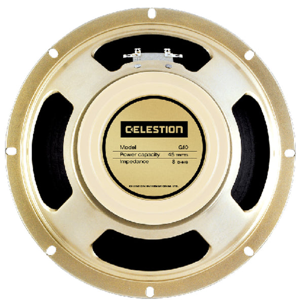 "Celestion G10 Creamback 10"" 45 Watt Guitar Speaker - The Speaker Factory"