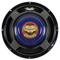 "WGS Black & Blue ALNICO 12"" 15 Watt British Invasion Guitar Speaker"