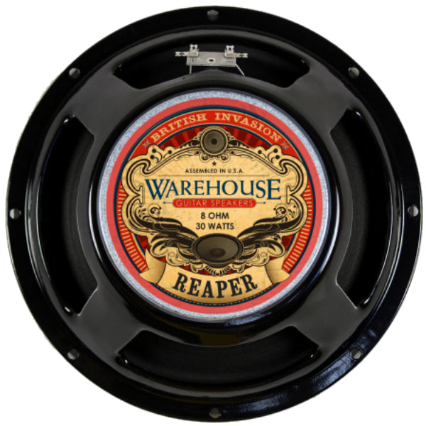 "WGS Reaper 12"" 30 Watt British Invasion Guitar Speakers - The Speaker Factory"