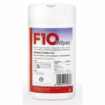 F10 Wipes - 100 pack