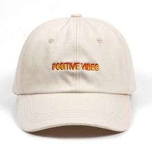 Load image into Gallery viewer, Positive Vibes Baseball Cap