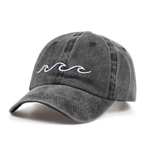 Sea Wave Baseball Cap