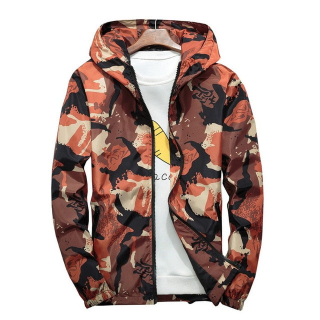 Camouflage Casual Jacket