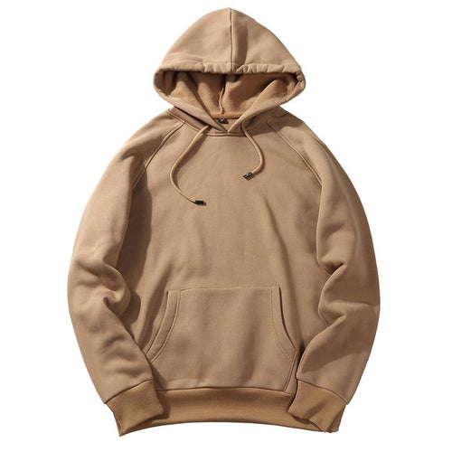 Simple Color Hoodie